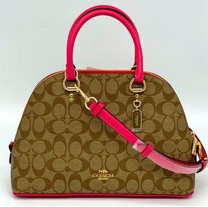 Coach Katy Satchel Signature Bag